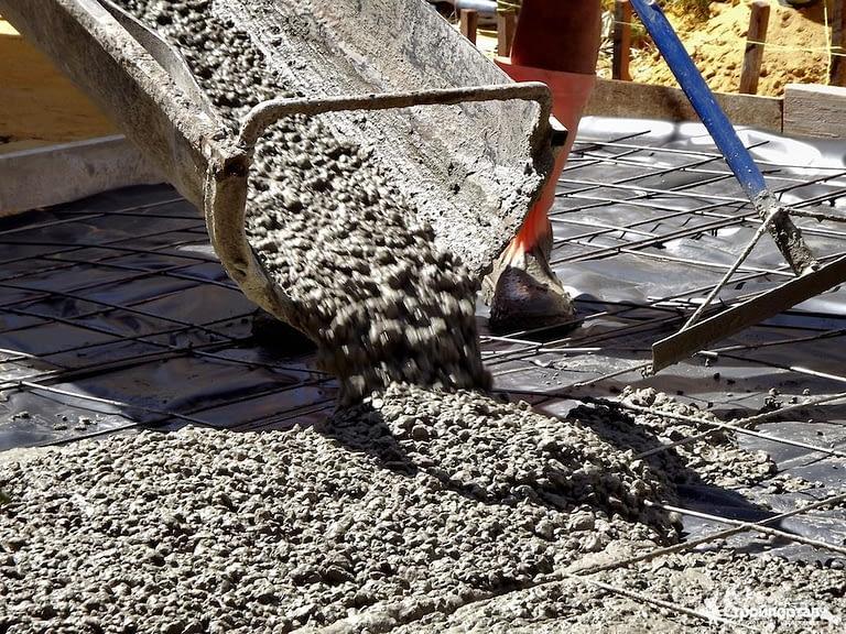 Где используют бетон бетон тощий это